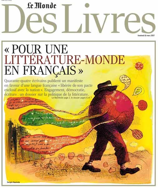 Petrodollars Outre Monde 2017: Manifeste « Pour Une Littérature Monde En Français